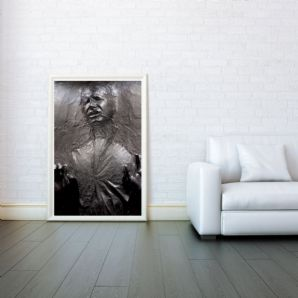 Han solo han solo frozen in carbonite star wars prints posters wall art print poster any size - Han solo in carbonite wall art ...