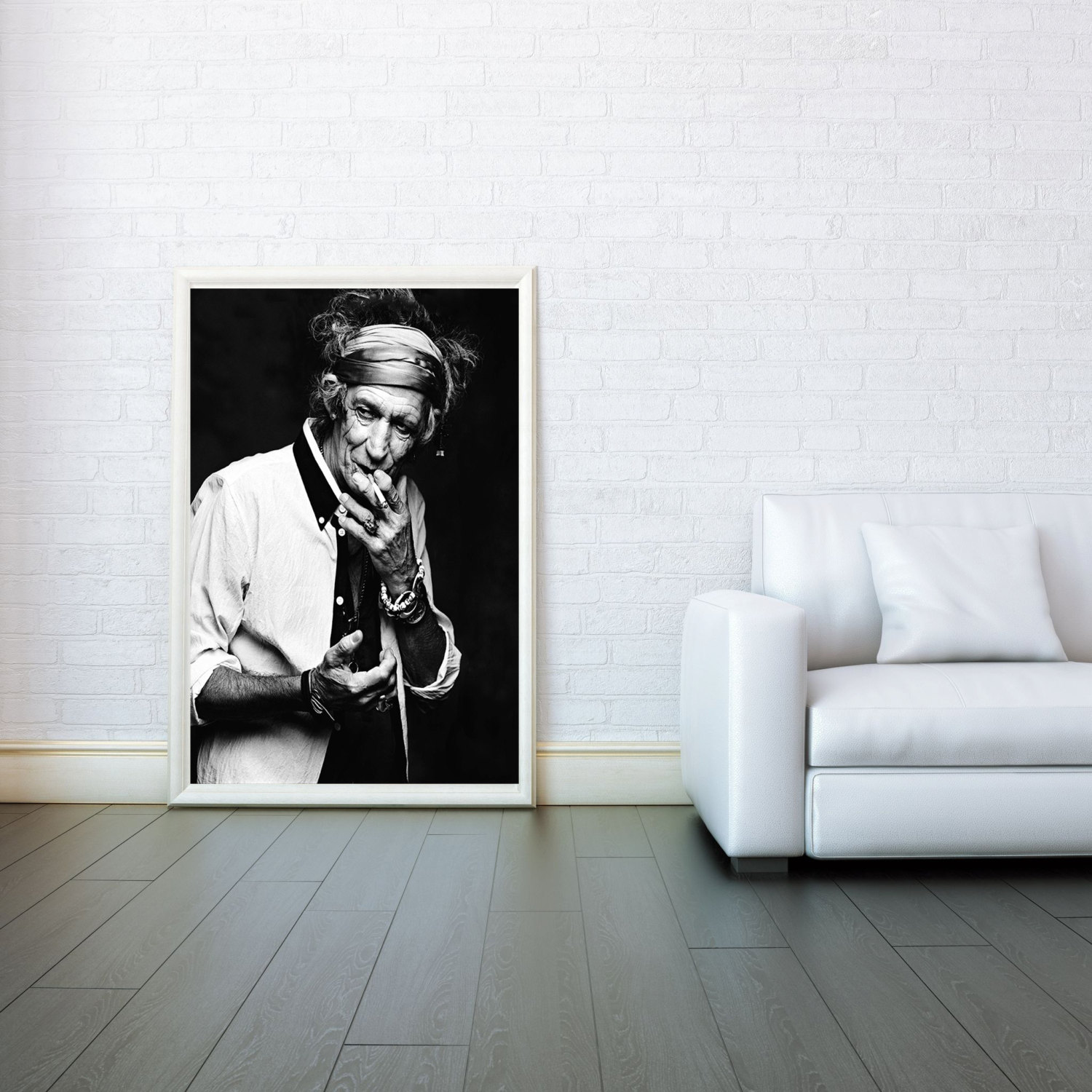 Rolling Stones Keith Richards Giclee