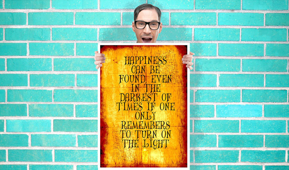 Harry Potter Dumbledore quote happiness can be found in the darkest ...
